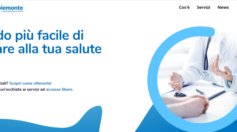 Homepage Salutepiemonte.it