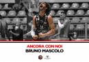 Bruno Mascolo, l'MVP dell'intero campionato, rimane al Derthona Basket